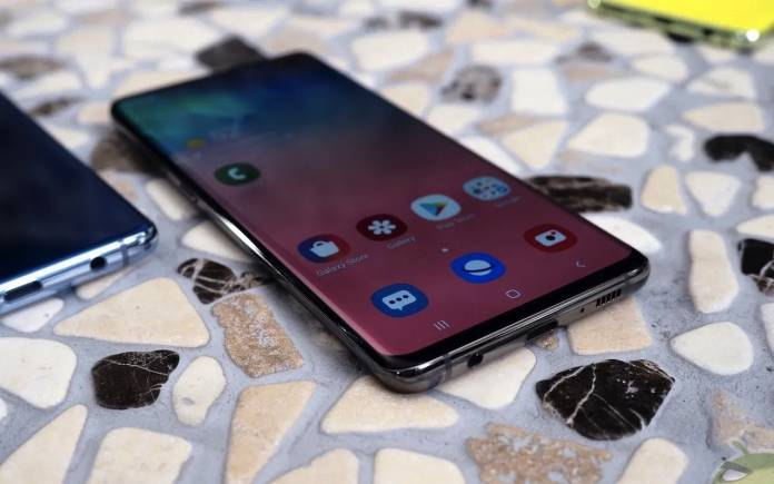 Samsung Galaxy S10 fingerprint recognition issue