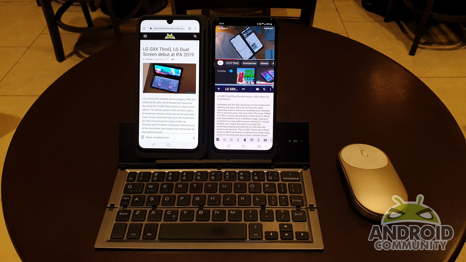 LG G8X ThinQ Dual Screen review: a few steps shy of