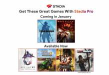 Google Stadia Pro games for January 2020