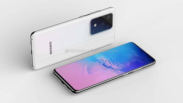 Samsung Galaxy S11 Plus Camera Specs