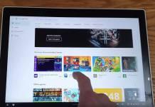 Chrome OS 80 Gesture Navigation