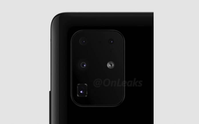 Samsung Galaxy 20+ Camera Features