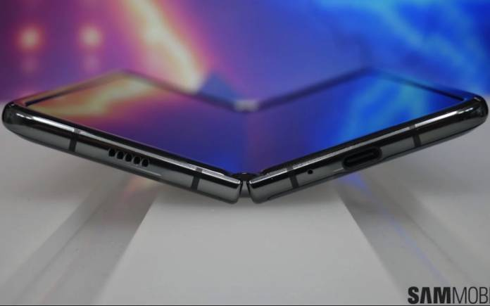 Samsung Galaxy Z Flip Clamshell Foldable Phone