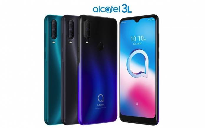 TCL Alcatel 3L Android Phone CES 2020