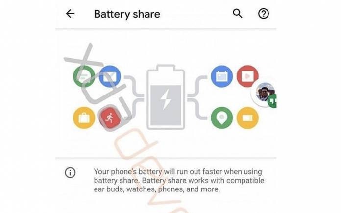 Android 11 Battery Share