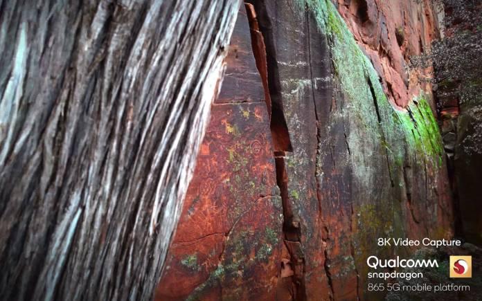 Qualcomm Snapdragon 865G 8K Video 8K Photo