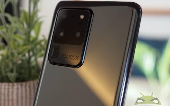 Samsung Galaxy S20 960 fps video recording