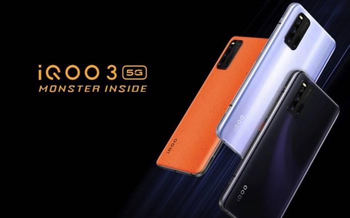 iQOO 3 5G Monster Inside Smartphone