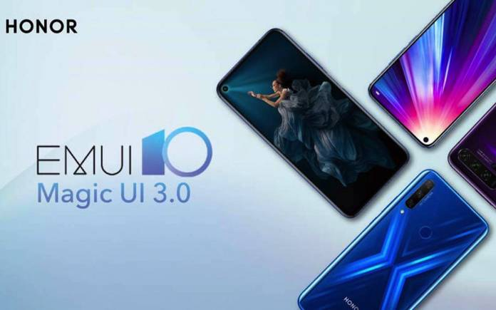 Honor MAGIC UI 3.0 EMUI 10