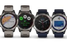 Garmin quatix 6 marine GPS smartwatch