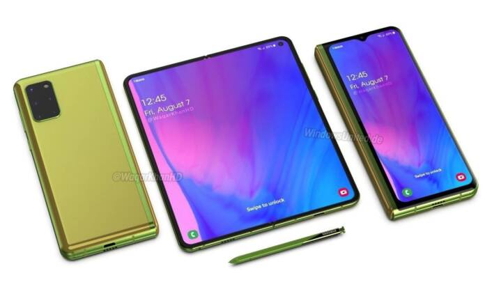 Samsung Galaxy Fold 3 Concept Foldable Phone April 13 2020
