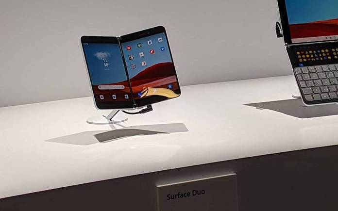 Microsoft Surface Duo Specs