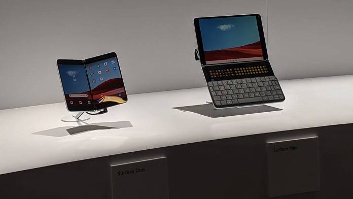 Microsoft Surface Duo and Surface Neo Delayed