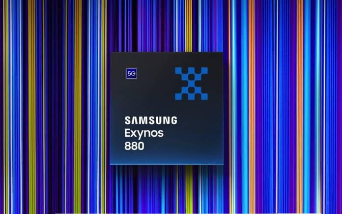 Samsung Exynos 880 chipset