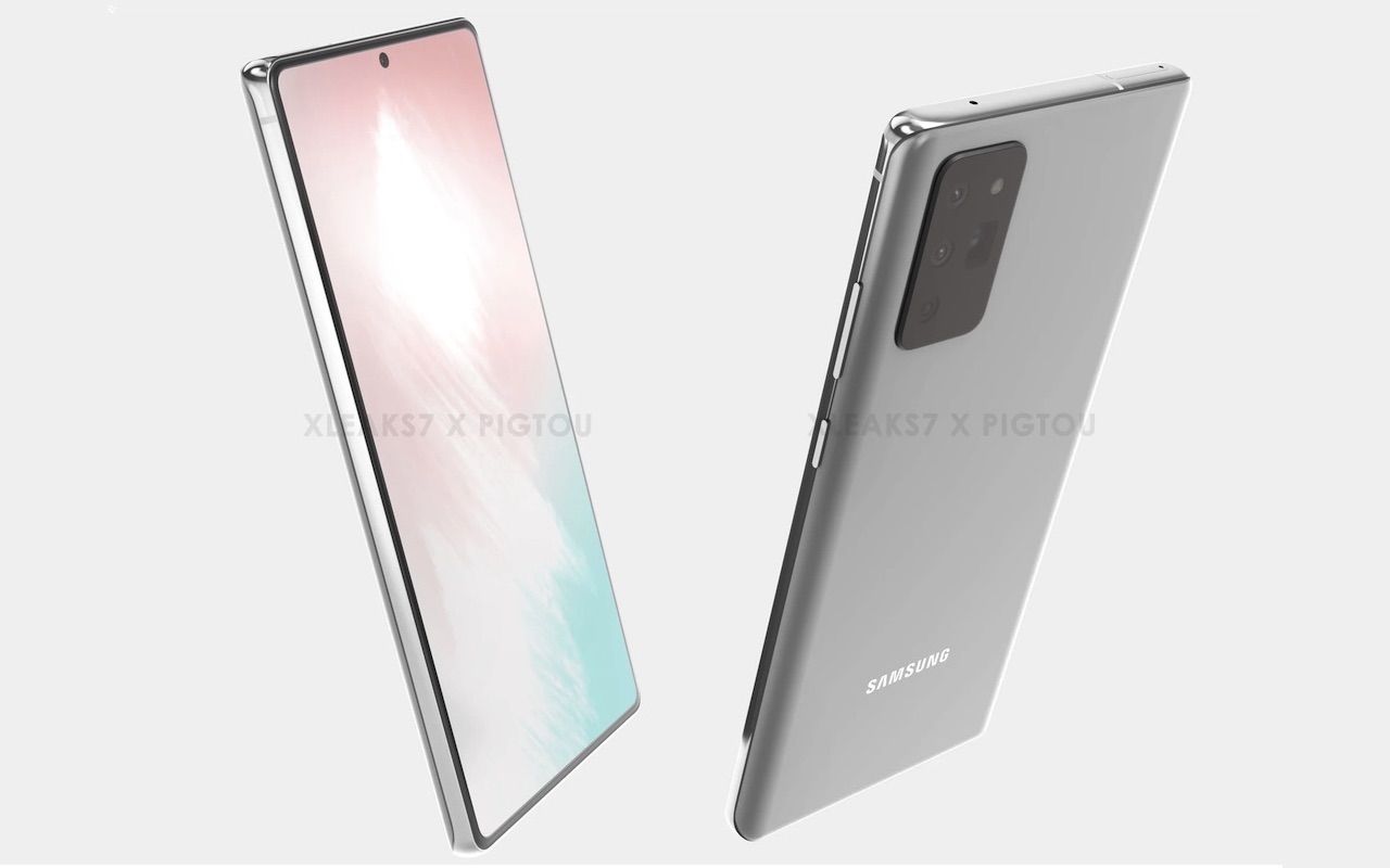 Samsung Galaxy Note 20 Image Render 1