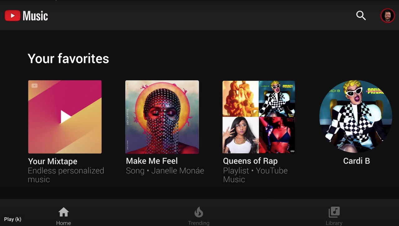 YouTube Music Related Music Playlist