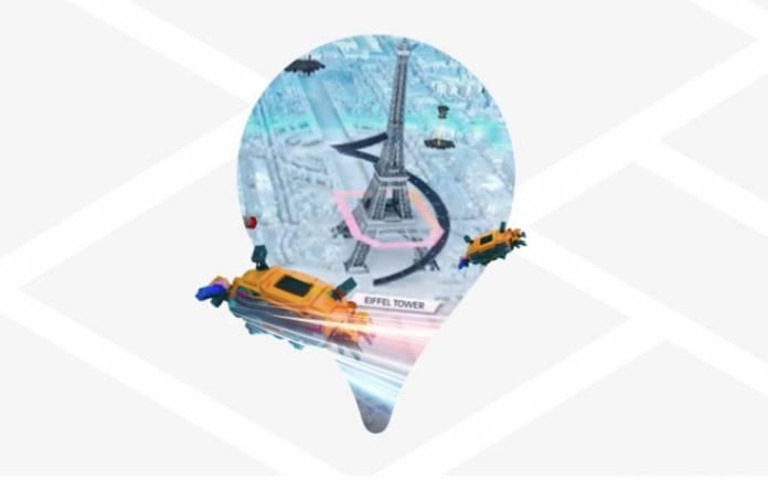Google Maps Platform gaming solution