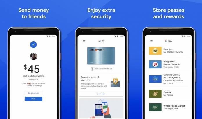 Google Pay G Pay