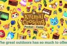 Nintendo Animal Crossing Pocket Camp