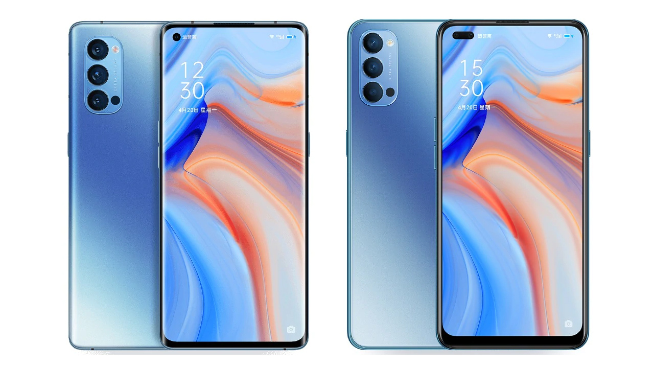Oppo Reno 4 And Reno 4 Pro Launched In China Android Community
