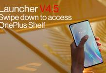 OnePlus Launcher V.4.5