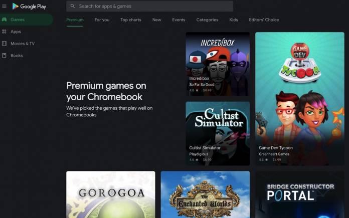 Premium Games on Chromebook