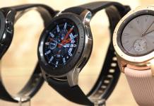 SAMSUNG Galaxy Watch 2020 Rotating Bezel