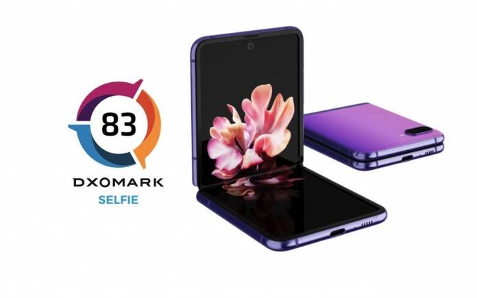 Samsung Galaxy Z Flip Selfie Camera DxOMark
