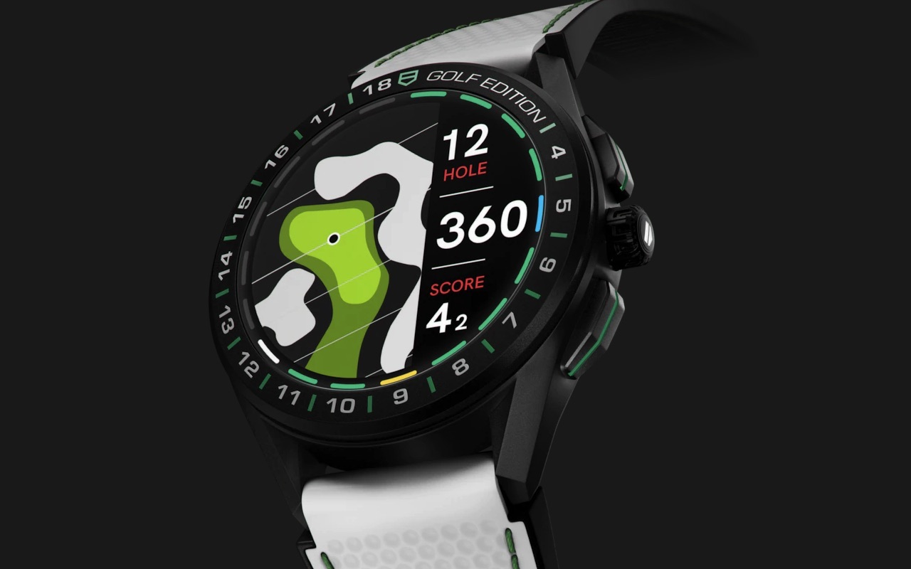 TAG Heuer Connected Watch Golf Edition 2020