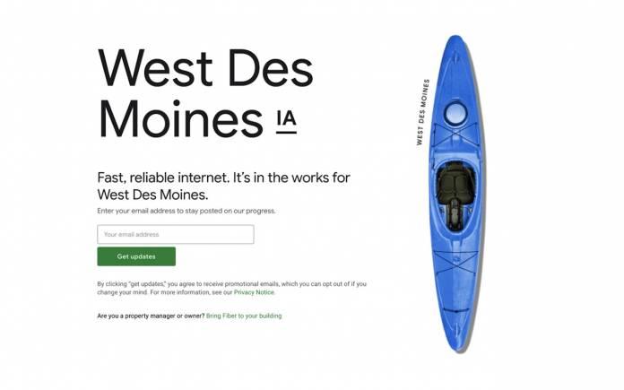 Google Fiber West Des Moines