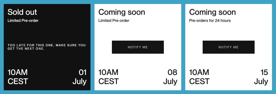 OnePlus Nord Pre-order Schedule