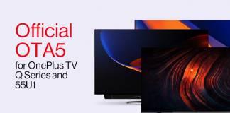 OnePlus TV OTA 5 Q series Update