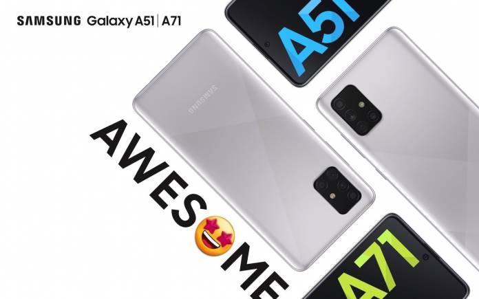 Samsung Galaxy A51 Galaxy A71