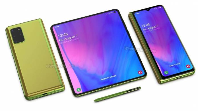 Samsung Galaxy Fold 2 Display Specs