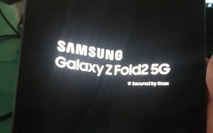 Samsung Galaxy Z Fold 2 5G A