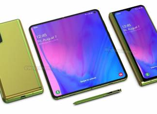 Samsung Galaxy Z Fold 2 Concept Phone