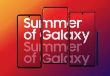 Summer of Samsung Galaxy 5G Phones