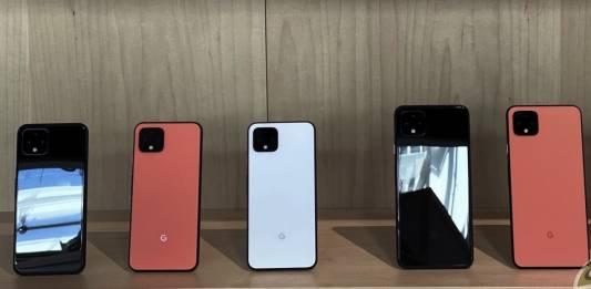 Google Pixel 2021 lineup