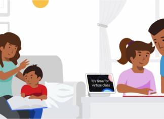 Google Virtual Classroom Learning From Home