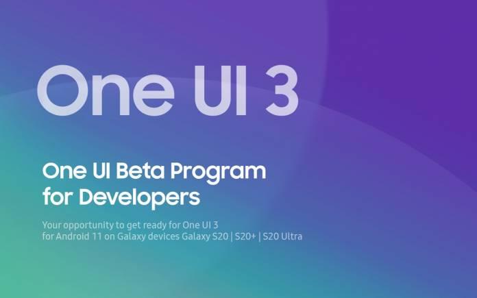One UI 3 Beta Program for Developers