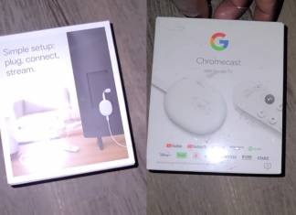 Google Chromecast Sabrina
