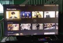 Google Chromecast UI with Android TV