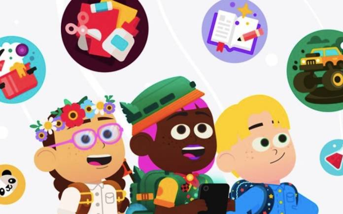 Google Kids Space Features
