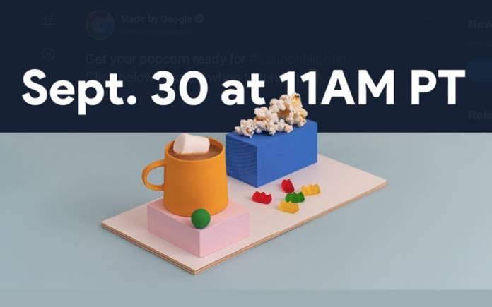Google Pixel event September 30 2020
