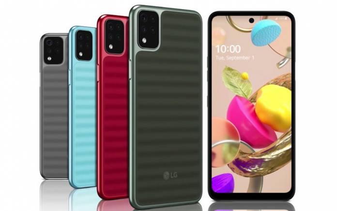 LG K Series September 2020