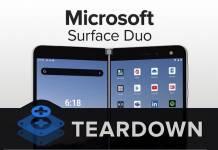 Microsoft Surface Duo Teardown