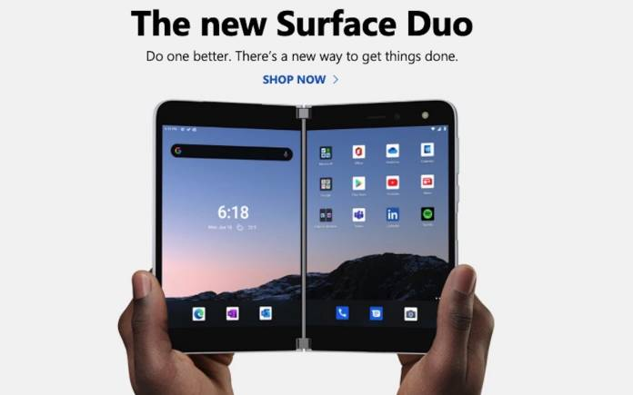 Microsoft Surface Duo Where to Buy