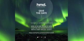 NOKIA HMD Global Save the Date September 22 2020