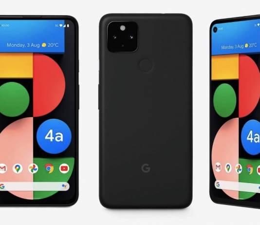 Pixel 4a 5G Phone