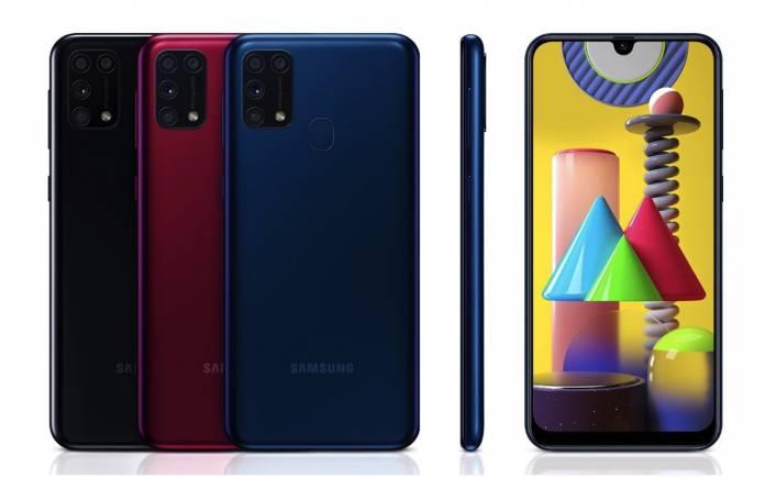 Samsung Galaxy M31 One UI 2.1 Update